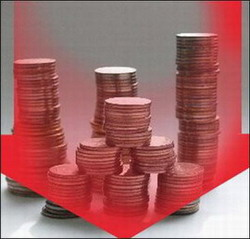 Столбики чеканных денег